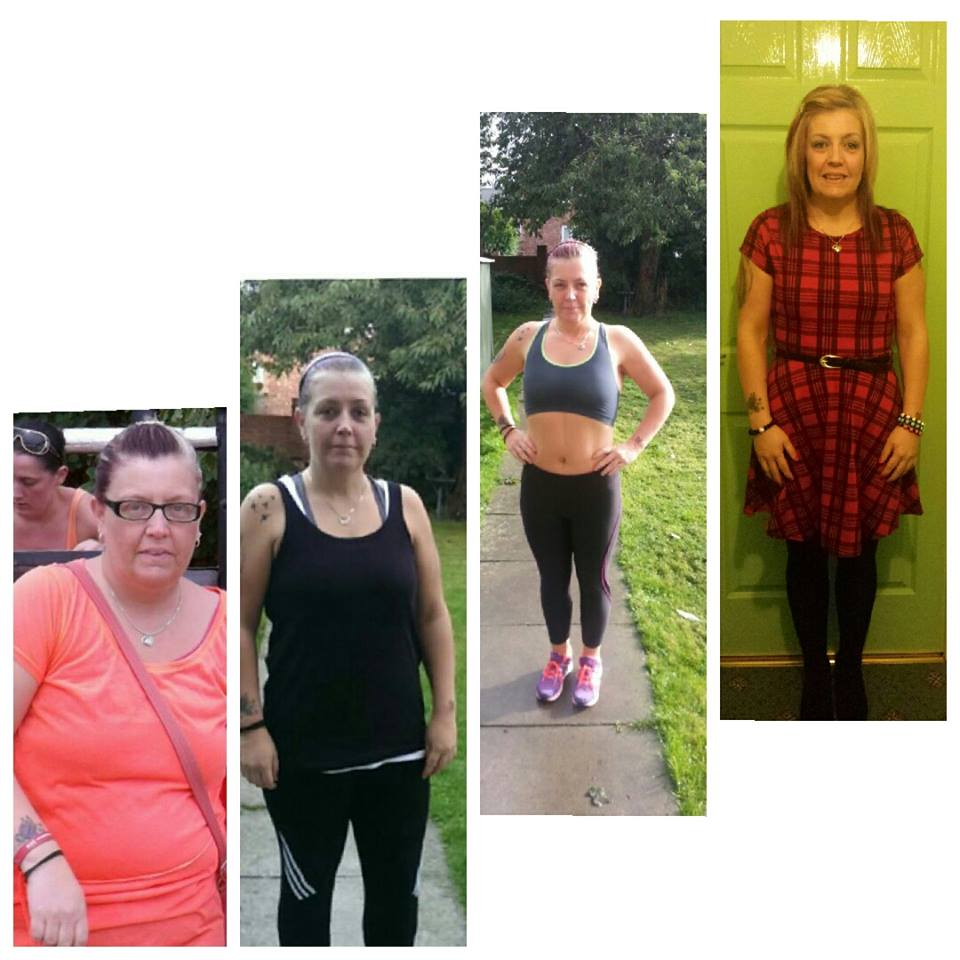 Tracy lost 5 stone and 36 inches in just 6 month